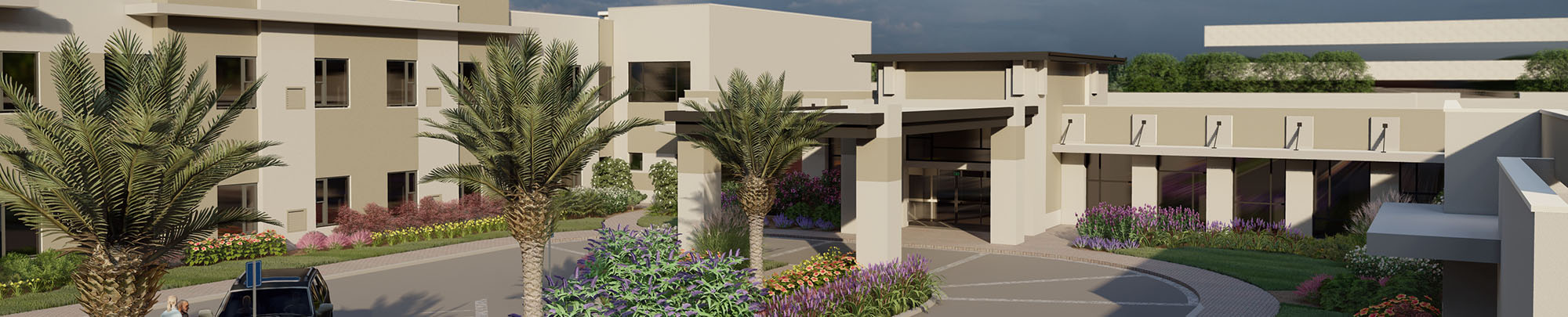New Assisted Living Memory Care Health Center Expansion Village on the Green